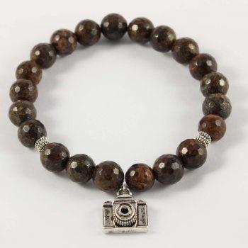 Bracelet en bronzite nouveau départ