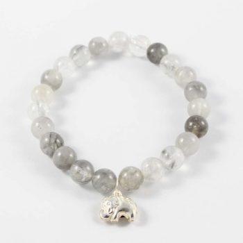 Bracelet quartz nuage