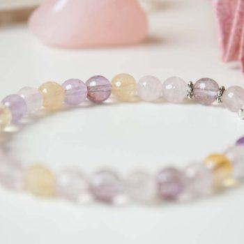 Bracelet quartz libellule